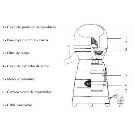 MOTOR COMPLETO EXP.MOD.5