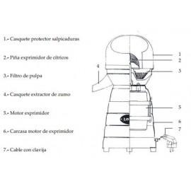MOTOR COMPLETO EXP.MOD.4