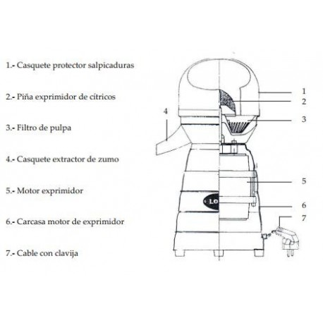 MOTOR COMPLETO EXP.MOD.4