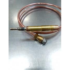 Termopar cabeza lisa M9x1L-500mm