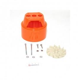 Carcasa central motor Electroportatiles Sammic (conj.)