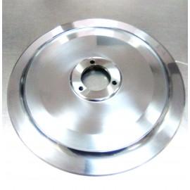 Cuchilla 200x159x37x10 mm 3 taladros