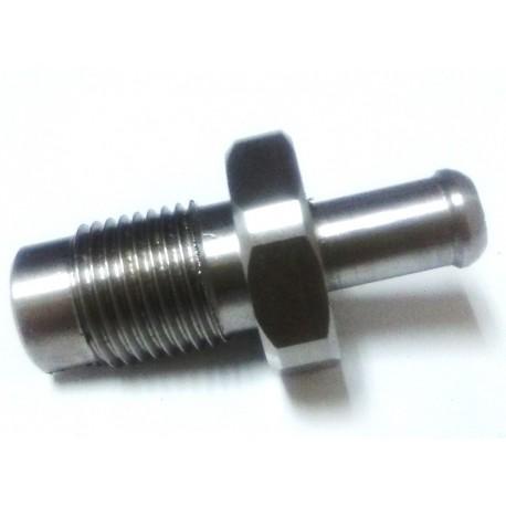 Racor Presion Largo Inox 3/8 Ø10mm