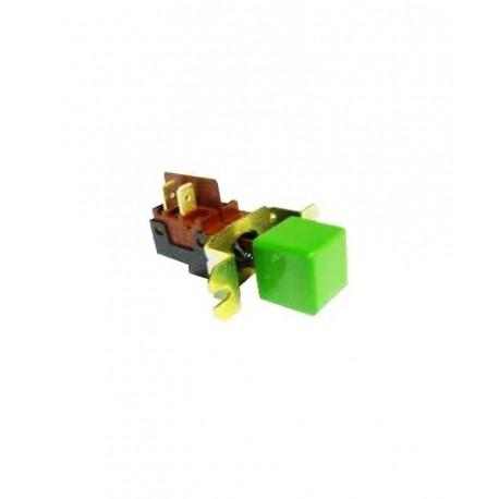 Interruptor General Verde 230V Crystal Line