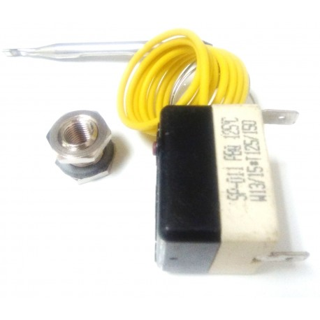 Termostato Seguridad Calderin 125º FI48/64/7