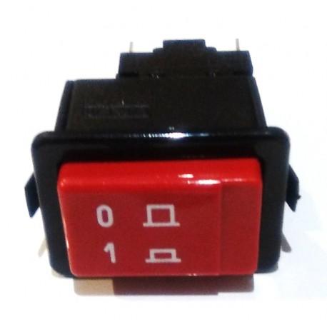 Interruptor Rojo 34x23mm ON/OFF E35/40/50