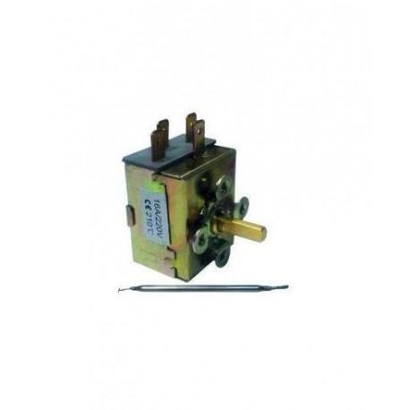 Termostato freidora 210ºC 15a 250v