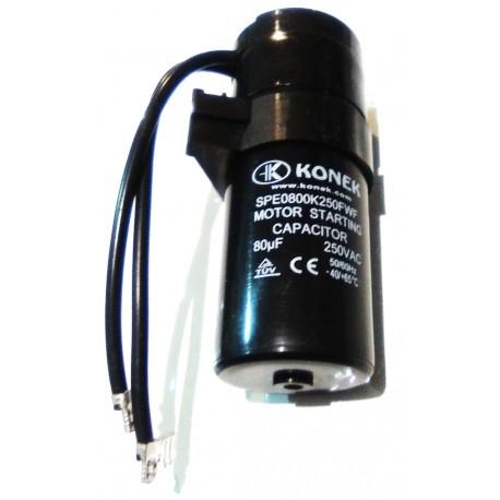 Condensador 80µF Arranque Compresores Sc / Fr
