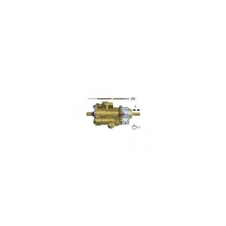 Grifo gas termostatico PEL25ST horno 100-300º