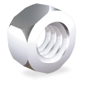 Tuerca hexagonal rosca métrica M5 mm. DIN 934 A2 (x100)