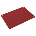 Fibra estándar roja 500x300x20 mm. Con tacos.