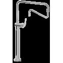 Grifo de columna orientable 2 aguas monomando