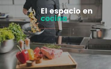 El espacio en cocina